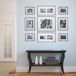 Gray Wash 9-pc. Gallery Wall Picture Frame Set