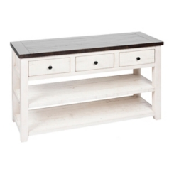 Franklin 3-Door 2-Shelf Console Table