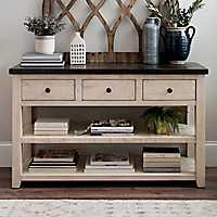 Franklin 3-Door 2-Shelf Console Table