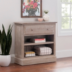 Bedside Chest with Baskets