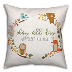 Play All Day Pillow