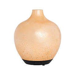 Gold Hand-Blown Glass Diffuser, 8 in.