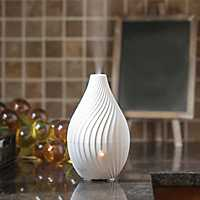 White Corkscrew Essential Oil Diffuser