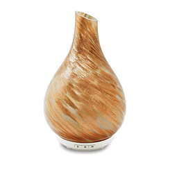 Gold Hand-Blown Glass Diffuser, 10 in.