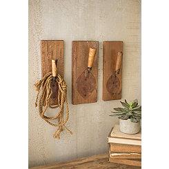 Repurposed Trowel Hook, Set of 3
