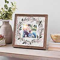 Floral Mix Photo Frame, 5x5