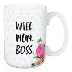 Wife Mom Boss Mug