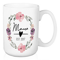 Mama Established 2017 Mug
