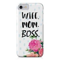 Wife Mom Boss iPhone 7 Plus Case
