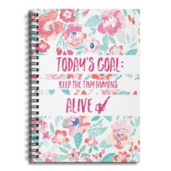 Keep the Tiny Humans Alive Spiral Notebook