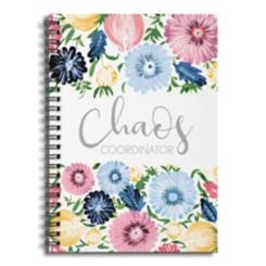 Chaos Coordinator Spiral Notebook