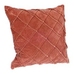 Spice Basket Weave Velvet Pillow