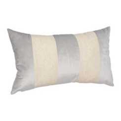 Gray Color Block Callie Accent Pillow