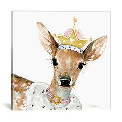 Glamour Girls Deer Canvas Art Print