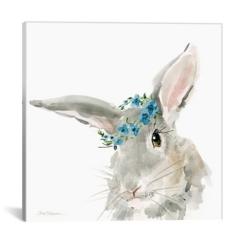 Glamour Girls Rabbit Canvas Art Print