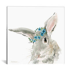 Glamour Girls Rabbit Canvas Art Print
