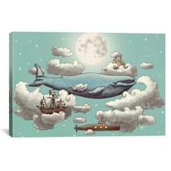 Ocean Meets Sky II Canvas Art Print