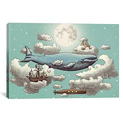 Ocean Meets Sky II Canvas Art Print