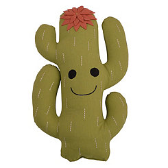 Green Catalina Cactus Pillow