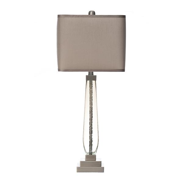 Smoke Luster Glass Table Lamp
