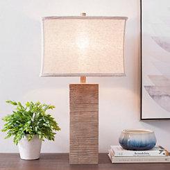 Desert Woodgrain Table Lamp