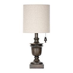 Table lamps glass table lamps kirklands tabbi brown table lamp aloadofball Choice Image