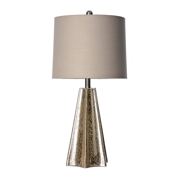 Winsome Mercury Glass Table Lamp