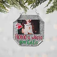 Metal Cat Pet Frame Ornament