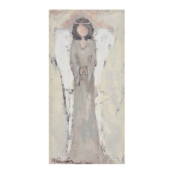 Neutral Angel Canvas Art Print