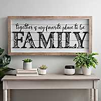 Family Favorite Place Shadowbox