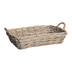 Woven Willow Decorative Tray