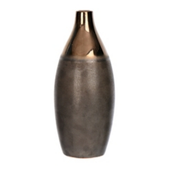 Bronze Multi Tone Ceramic Vase