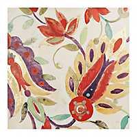 Spice Floral Canvas Art Print