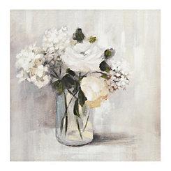 Summer Nuance Floral Canvas Art Print
