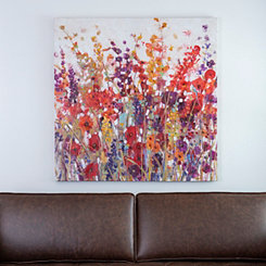 Wildflower Field Canvas Art Print
