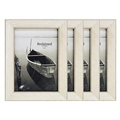 Basic White 5x7 Picture Frames, Set of 4
