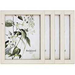 Basic White 8x10 Picture Frames, Set of 4