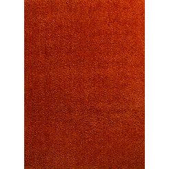 Citrire Orange Columbia Shag Area Rug, 5x7