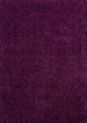 Verbena Purple Columbia Shag Area Rug, 5x7