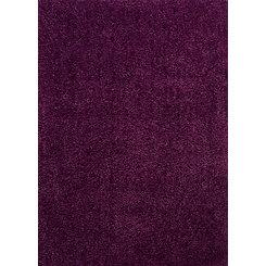 Verbena Purple Columbia Shag Area Rug, 5x7