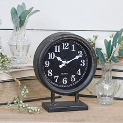 Vann Metal Tabletop Clock