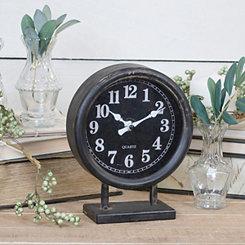Vann Metal Tabletop Clock