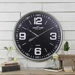 Regal Metal Wall Clock