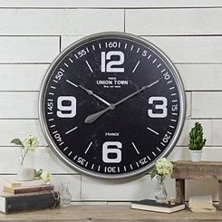 Regal Metal Wall Clock