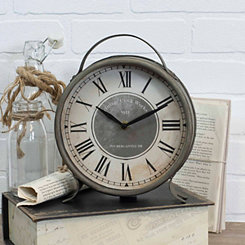 Lexie Metal Tabletop Clock