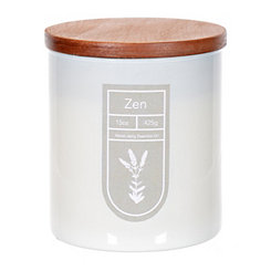Zen Essential Oil Jar Candle