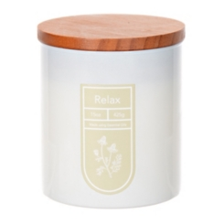 Relax Essential Oil Jar Candle