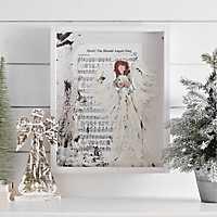 Hark The Herald Angels Music Framed Art Print