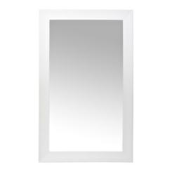 Cream Wave Framed Wall Mirror, 45x75