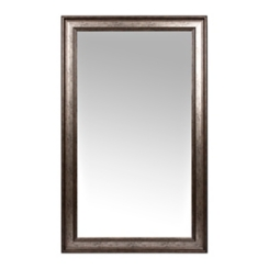 Textured Silver Framed Mirror, 45.4x75.4 in.